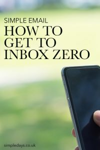 A strategy for how to manage your inbox. How to manage email effectively, declutter your inbox, achieve inbox zero and keep your inbox empty.