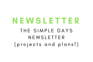 Simple Days Simple Living Newsletter