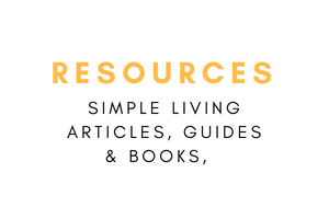 Simple living resources