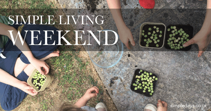 Simple living weekend 1