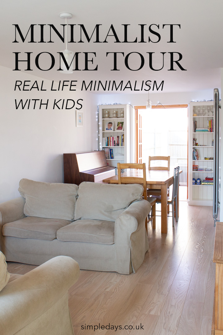 Minimalist home tour