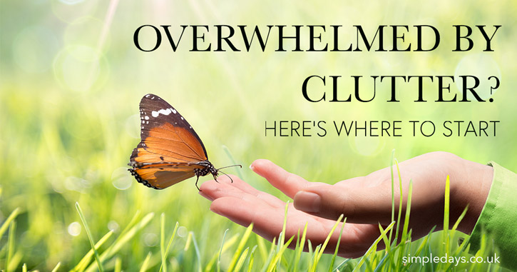 Overwhelmed by clutter? Here's where to start.