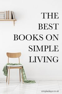 A list of the best books on simple living that I have found over the years. Solid writing from authors who live a simple life themselves.